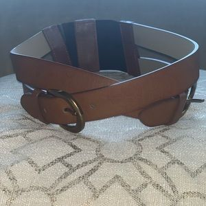 Leather wide body belt ⭐️
